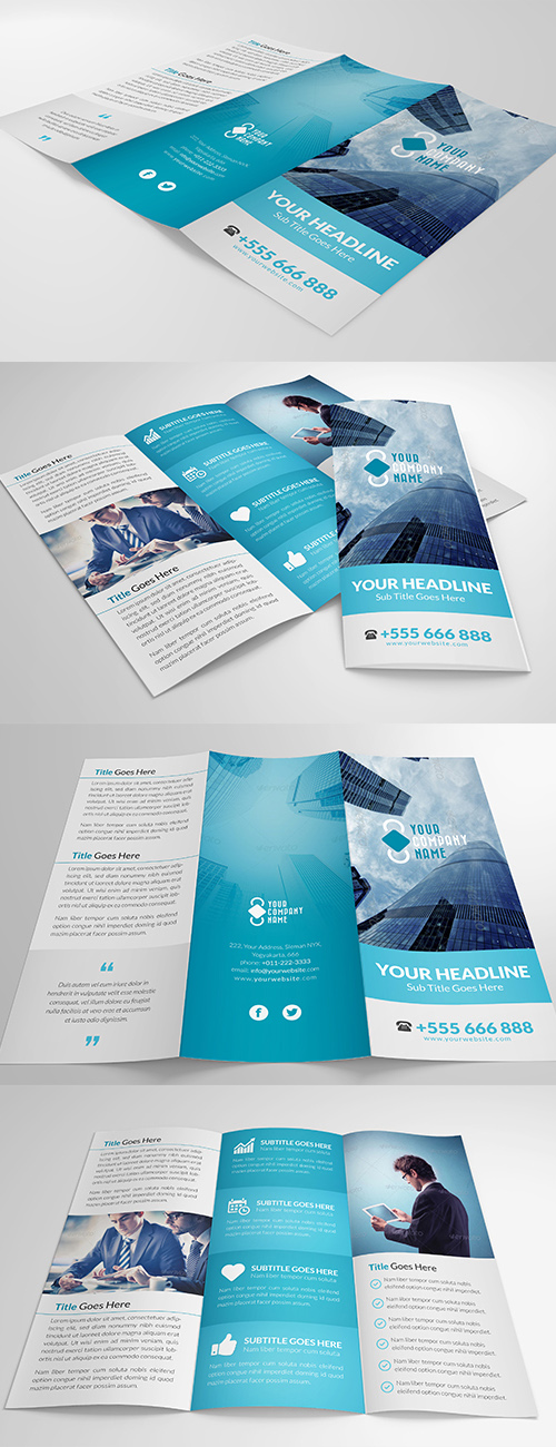 Brochure designs tri fold bi fold brochures design for Elegant brochure templates