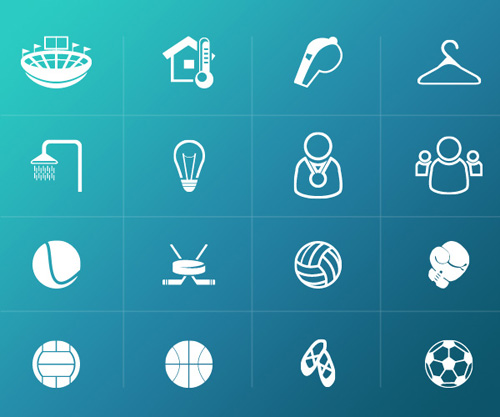 Free Sports Icons for Web