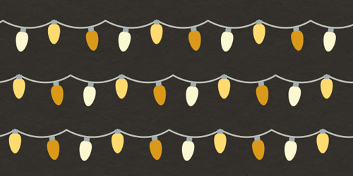 How to Create a Holiday Lights Pattern Brush in Adobe Illustrator