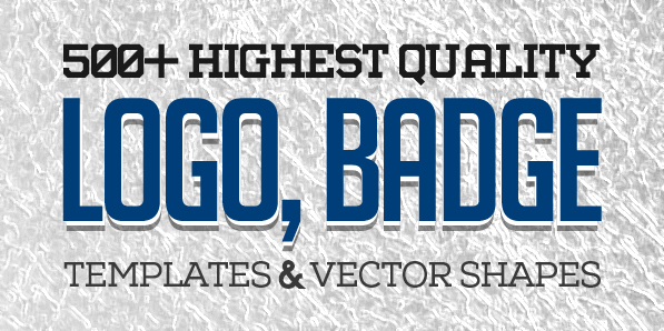 500+ Highest Quality Logo, Badge Templates & Vector Shapes for Designers