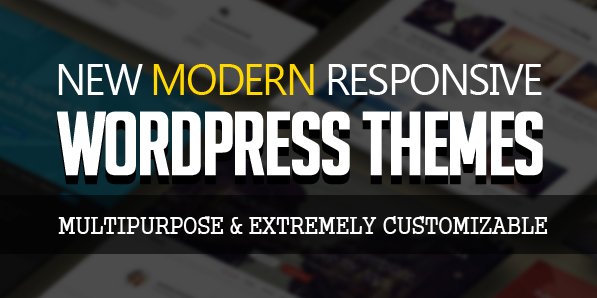 15 New Responsive WordPress Themes (Extremely Customizable Themes)