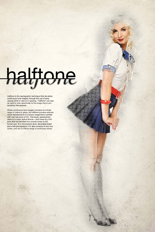 Create a Vintage Design Using Stylish Halftone Effects in Photoshop Tutorial