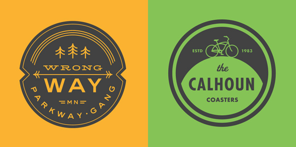 50+ Creative Designs of Badges and Logos - 17