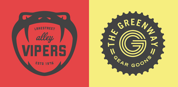 50+ Creative Designs of Badges and Logos - 18