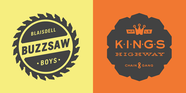 50+ Creative Designs of Badges and Logos - 21