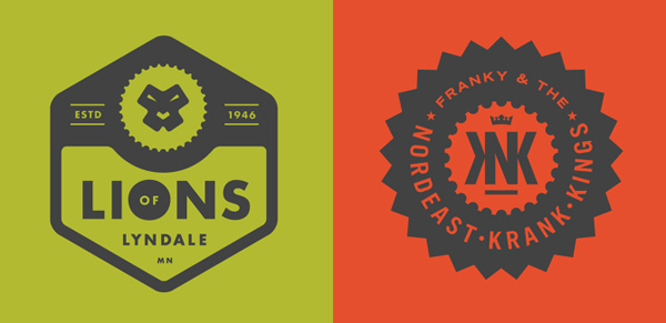50+ Creative Designs of Badges and Logos - 22