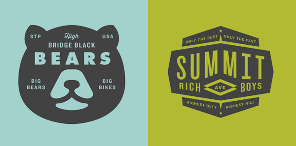 50+ Creative Designs of Badges and Logos - 29