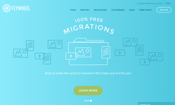 Flat Websites Design - 25 New Web Examples - 14