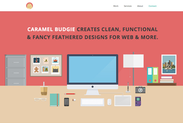 Flat Websites Design - 25 New Web Examples - 4
