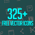 Post Thumbnail of Free Vector Icon Set (325+ Icons)