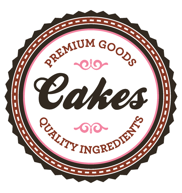 Cake Designs Logo : Free Vector Bakery Logos and Label Vector Graphic ...