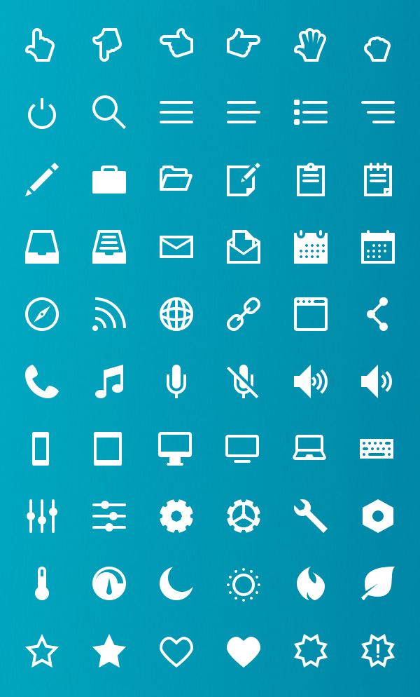 Vector Icons View - 1