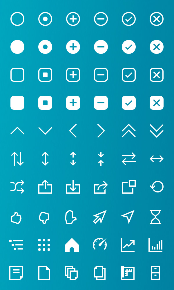 Vector Icons View - 2