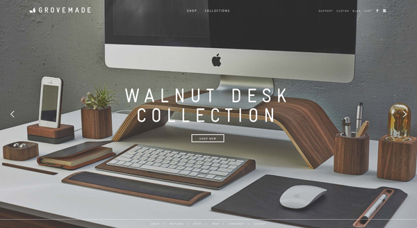 Flat Design Websites for Inspiration - 1