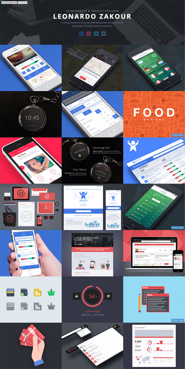Flat Design Websites for Inspiration - 18