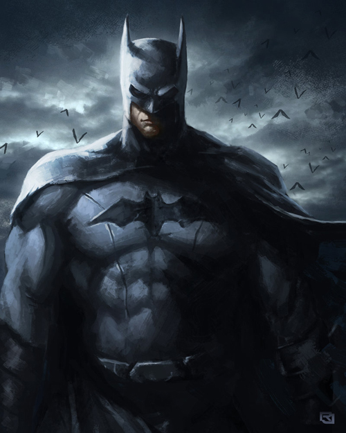 Batman speed painting by Rob-Joseph