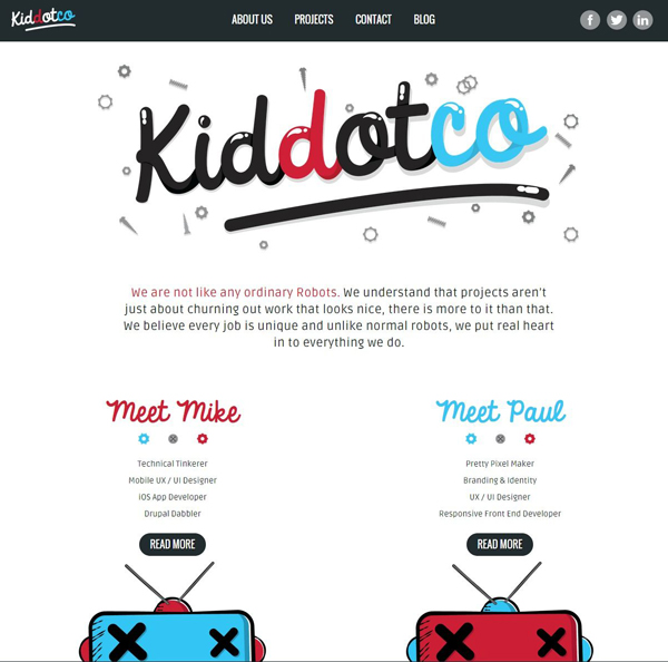 Flat Design Websites for Inspiration - 5