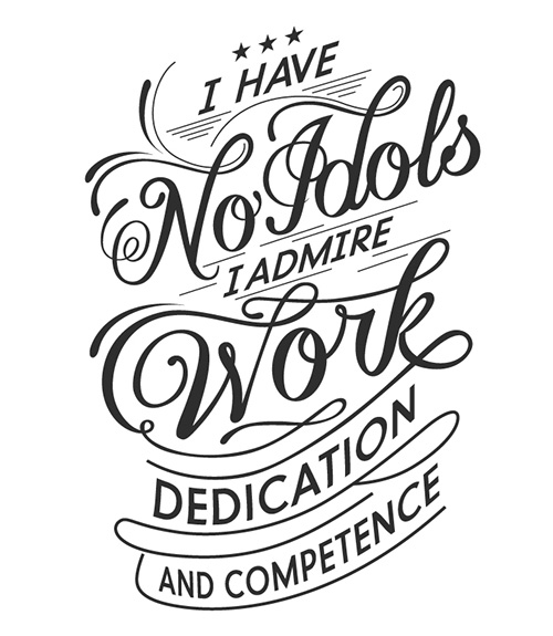 Typography Posters: 30 Motivational and Inspiring Quotes - 25