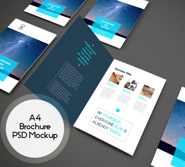 Brochure Template Design Psd