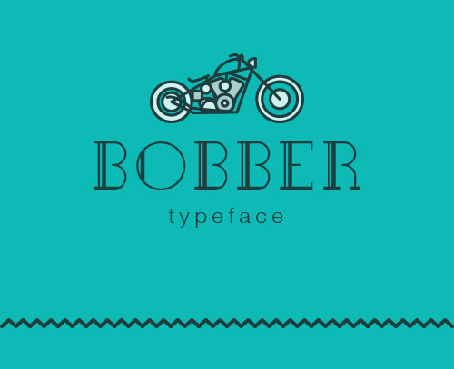 Bobber Free Font for Hipsters