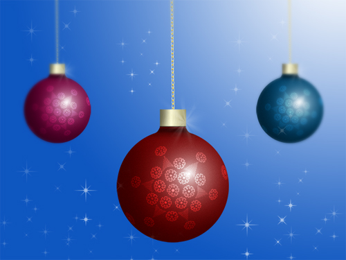How to Create Christmas Ornaments in Photoshop