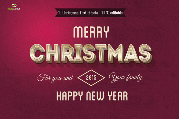 Christmas Text Effects Vol.3