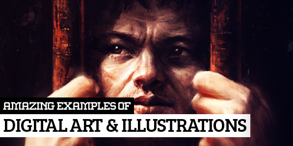 25 Amazing Digital Illustrations by Professional Artists & Designers