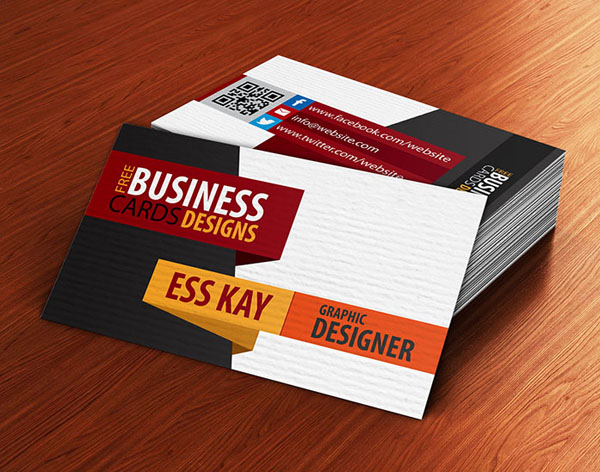 Free Business Cards PSD Templates - Print Ready Design