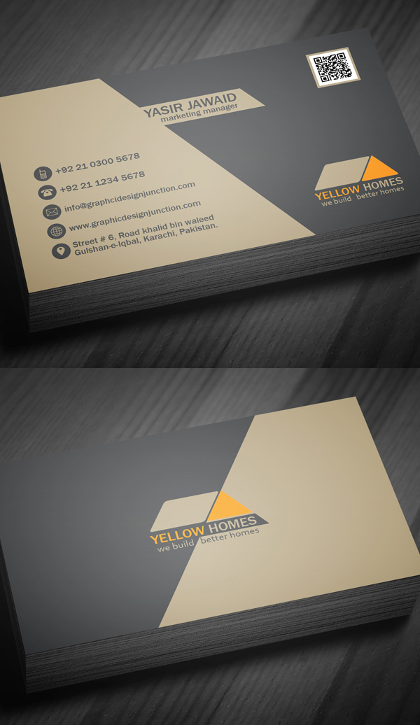 Real Estate Business Cards Samples