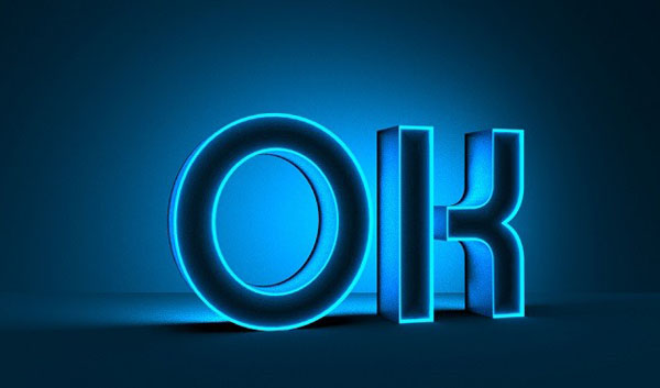 Create Luminous Text Using Photoshop 3D Layers