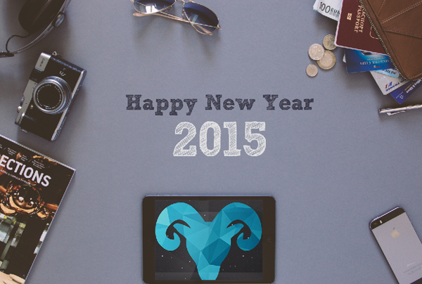 New Year 2015 Hero Header Wallpaper