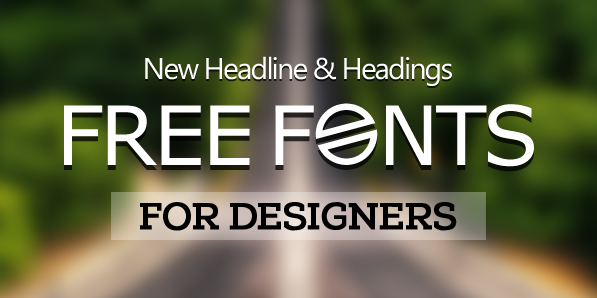 17 New Free Fonts For Designers