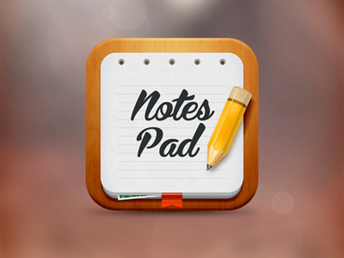 Notes pad icon