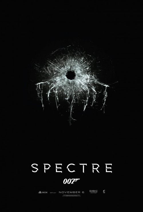 Spectre 007 Movie Poster