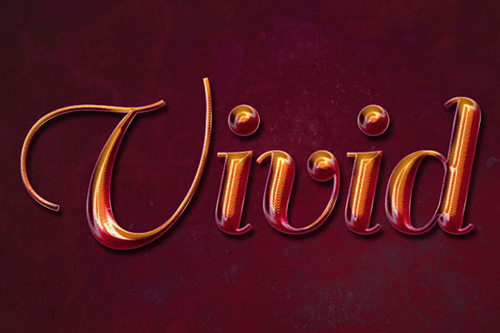 How to Create a Vivid Ombré Text Effect in Adobe Photoshop