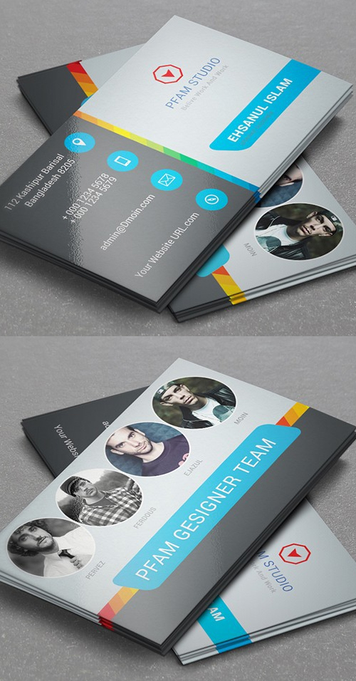 Team Member Business Card