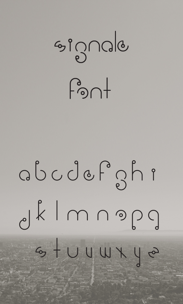Signale Free Font
