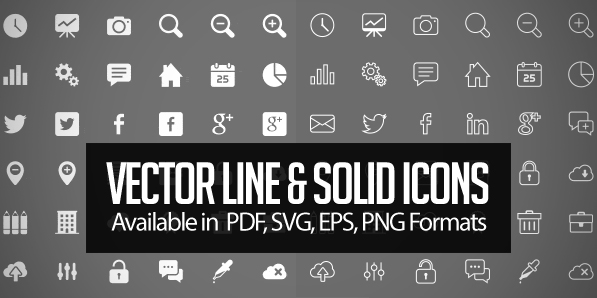250+ Free Vector Icons for Designers