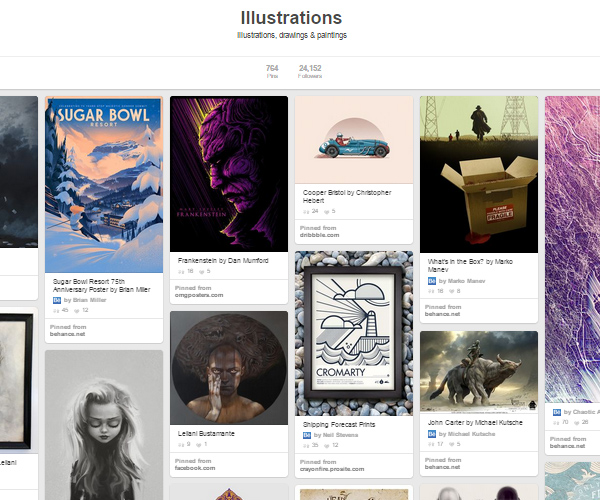 26 Top Digital Art & Illustrations Boards To Follow on Pinterest - 11