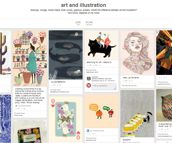26 Top Digital Art & Illustrations Boards To Follow on Pinterest - 16