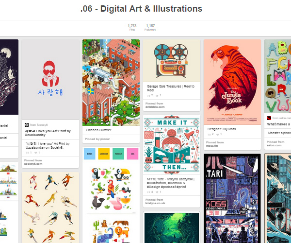 26 Top Digital Art & Illustrations Boards To Follow on Pinterest - 17