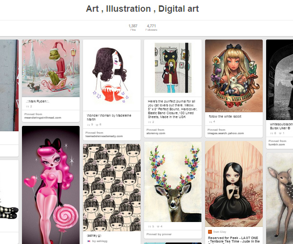 26 Top Digital Art & Illustrations Boards To Follow on Pinterest - 19