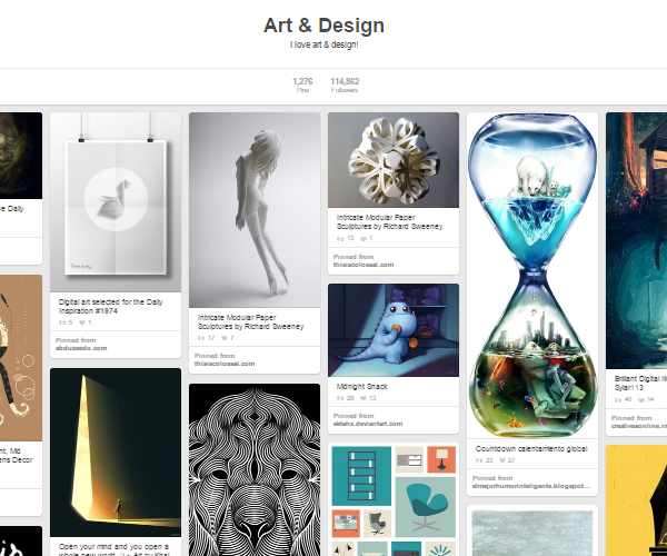 26 Top Digital Art & Illustrations Boards To Follow on Pinterest - 2