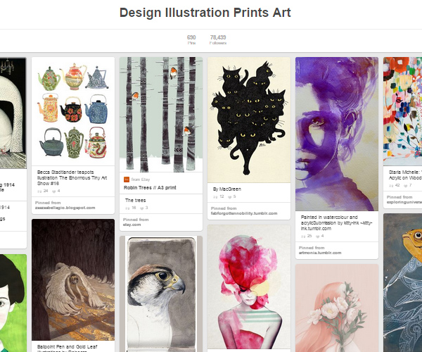 26 Top Digital Art & Illustrations Boards To Follow on Pinterest - 20