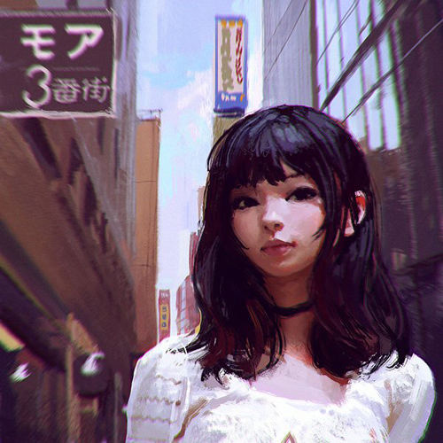 Creative Illustrations and Comics by Ilya Kuvshinov
