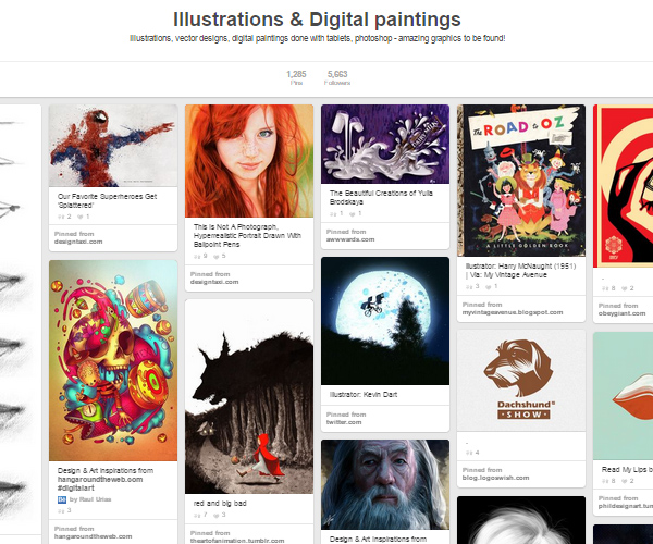 26 Top Digital Art & Illustrations Boards To Follow on Pinterest - 23