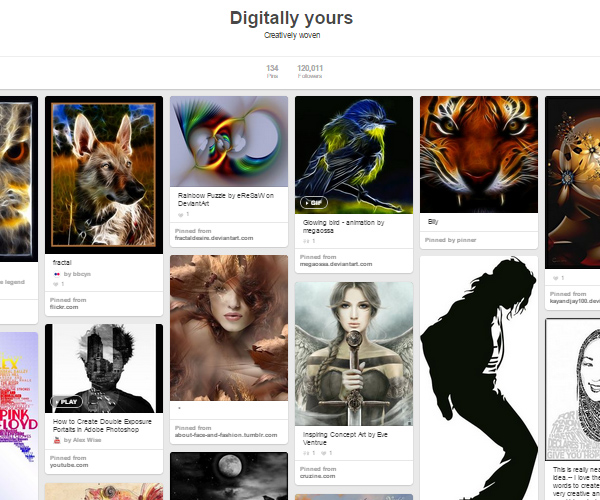 26 Top Digital Art & Illustrations Boards To Follow on Pinterest - 4