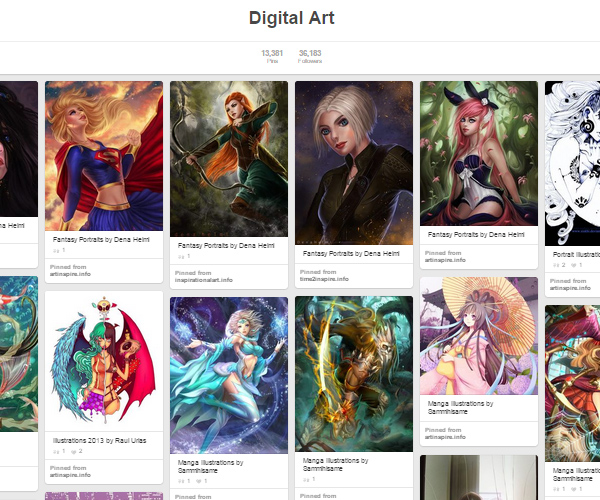 26 Top Digital Art & Illustrations Boards To Follow on Pinterest - 7
