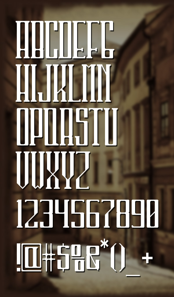 45 Free Hipster fonts - 1