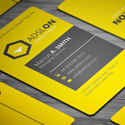 Post Thumbnail of 28 Creative Corporate Business Cards Design